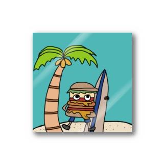honohonoくん  夏サーフィン2020 Stickers