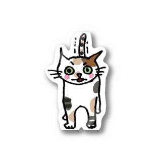 うんこ出たねこ Stickers