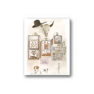 STUDIO T&Yの水彩画 Stickers