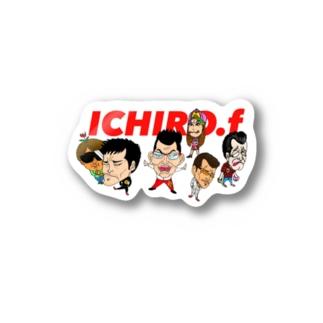 ICHIRO.F Stickers