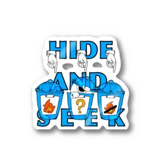隠れん坊 Stickers