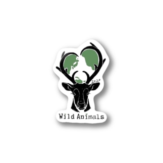 Stickers [Wild Animals公式ロゴ] Stickers