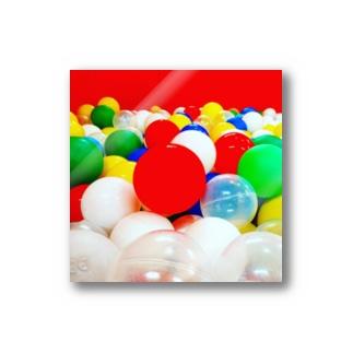 Raycocco Martのボールプール Stickers