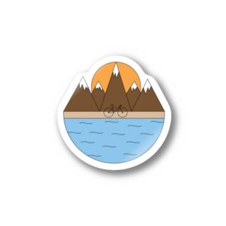 山登り Stickers