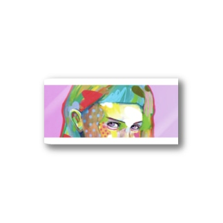 POP GIRL #8 Stickers