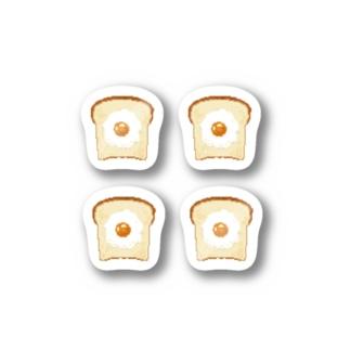 m!tsu shopの食パンドット🍳 Stickers