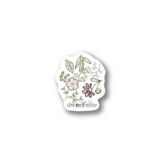 ドゥジャンテオリジナル(紙刺繍) Stickers