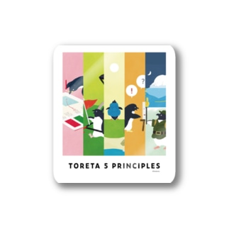 5PRINCIPLES Stickers