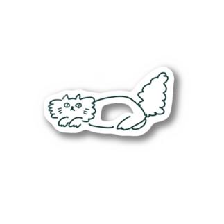 ふわふわCAT Stickers