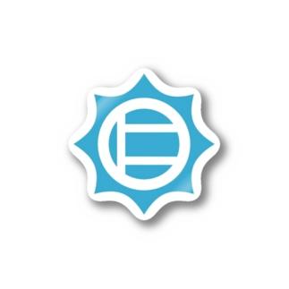 仁志路島ロゴグッズ Sticker
