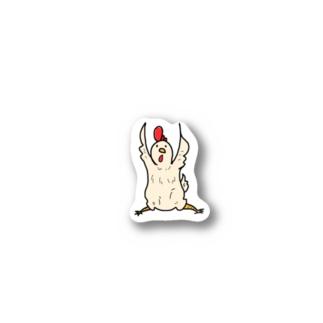 key_nのにわとりさん。 Stickers