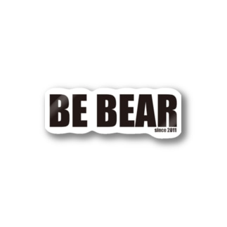 BE BEAR Stickers