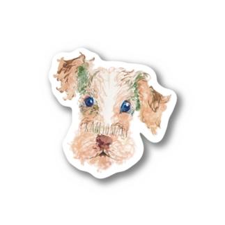 神尾茉利の いぬシール1 Stickers