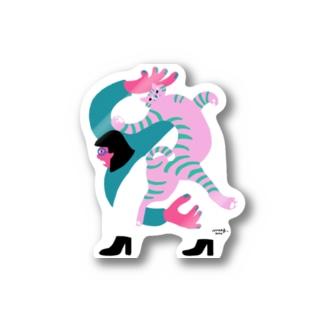 KARAMU_C Stickers