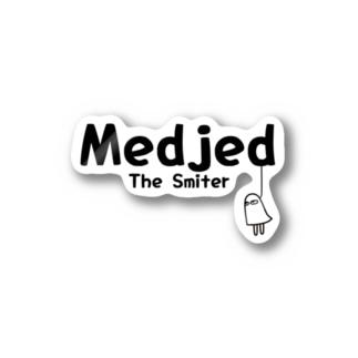 メジェド「The Smiter」 Stickers