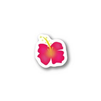 ハイビスカス Stickers
