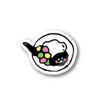 台湾のデザート豆花 Stickers