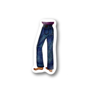 ANMISANのjeans Stickers