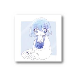 むちゃんの眠たい屋の無ちゃん Stickers