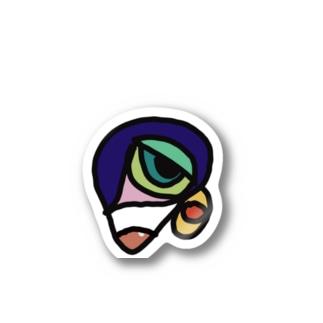 hatechiのイモムシくん Stickers