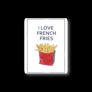 NATSUYA TAKASAKIのI LOVE FRENCH FRIES Stickers