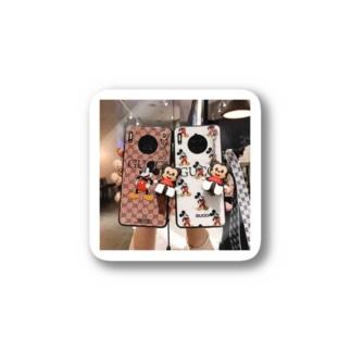 iPhoneケース Stickers