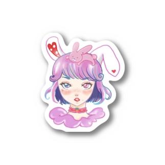 バニーガール Stickers