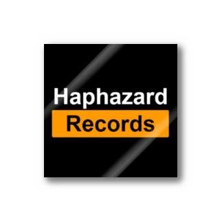 Haphazard Records Goods STOREのHaphazard Records Goods Stickers