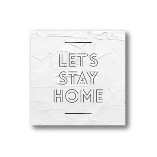 Let's stay home  Stickers