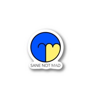陽キャになりたいsnmステッカ-madult- Stickers