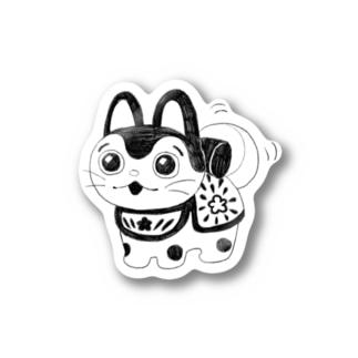 尻尾フリフリステッカー Stickers