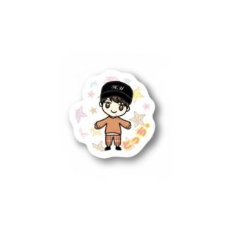 内田隼人【とっち。】 Stickers