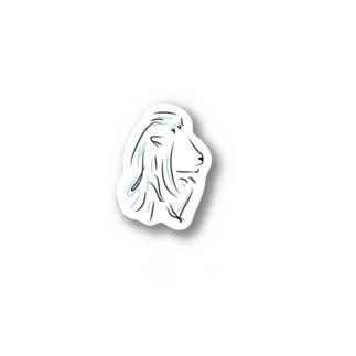 高藤千尋【ほわいとらいおん】 Stickers