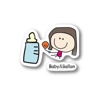 Baby&Ballon Stickers