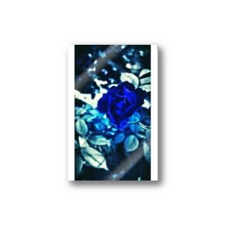 Blue Rose 幸運の青い薔薇 Sticker