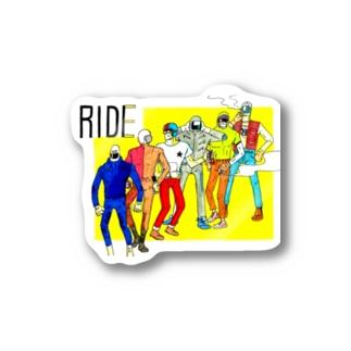 RIDE Stickers