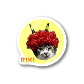 RIKICHANNEL OFFICIAL SHOPの赤鬼リキちゃん Stickers