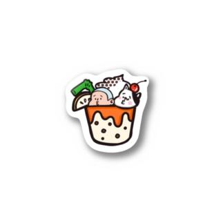 びぃ助のスイーツパフェ Stickers