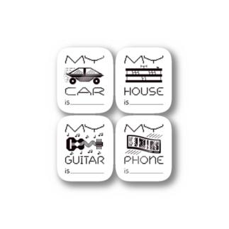 Hey Hey, My My Stickers