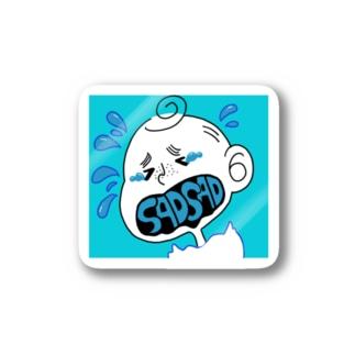 アメリカの少年(悲) Stickers