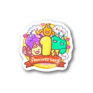 ことだま日記 グッズショップのことだま日記1周年記念  Stickers