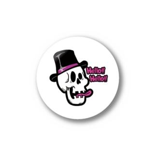 Pop Skull Sticker Stickers