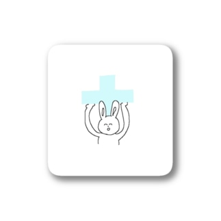 十字架背負ってるうさぎさん Stickers