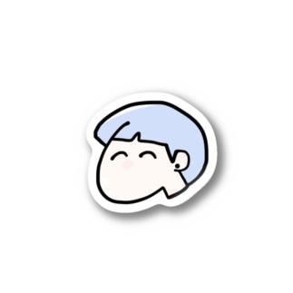 あお山くん Stickers