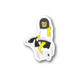 スーパーブス ウシ Stickers