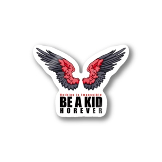 Be a kid. Stickers