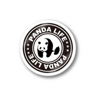 PANDA panda LIFE***ののしのしパンダ タイヤ Stickers