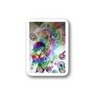 スモーキンBOY Stickers