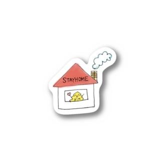 ステイホーム Stickers