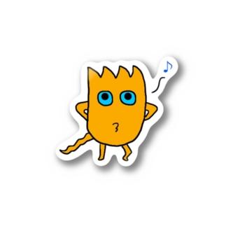 モグステッカー(ぴゅ~) Stickers